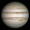 This full-disc image of Jupiter was taken on 21 April 2014 with Hubble's Wide Field Camera 3 (WFC3).