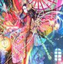moth princess oriental illo
